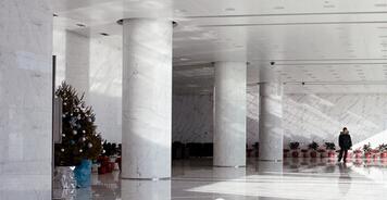盘点办公大楼最完美的石材柱设计