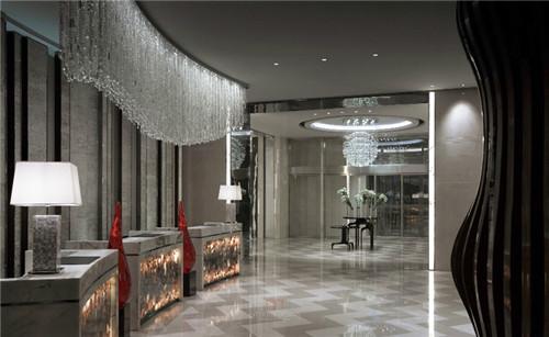 济南绿地美利亚酒店大理石装饰案例