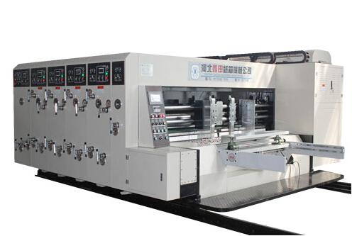 XT-D系列高速印刷开槽模切机